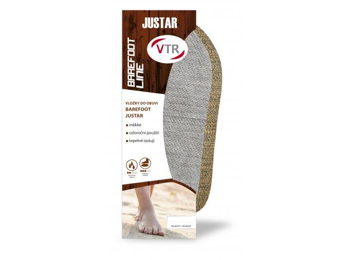 Barefoot stélky Justar šedé