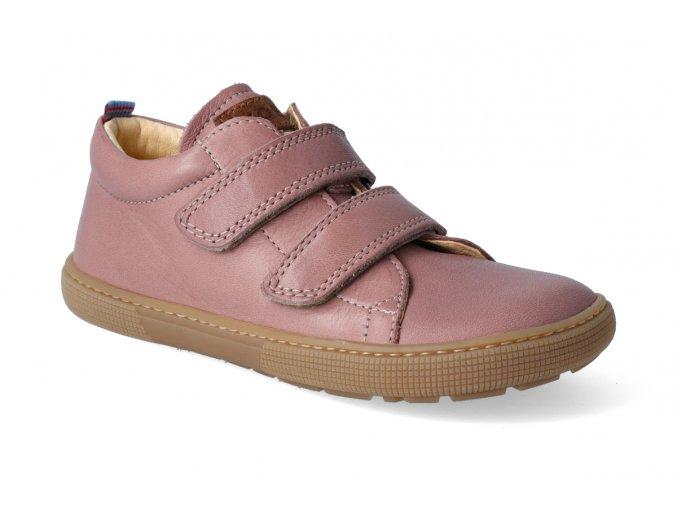 barefoot tenisky koel4kids bernardo old pink 2