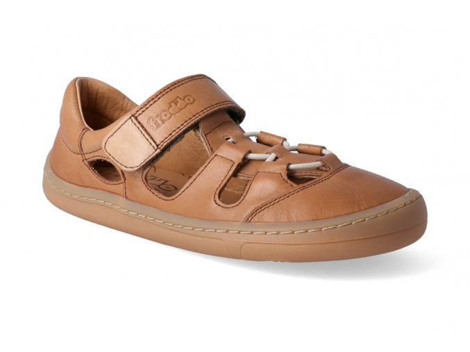 barefoot sandalky froddo bf brown 3 2
