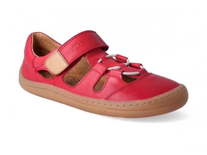 barefoot sandalky froddo bf red 3 2