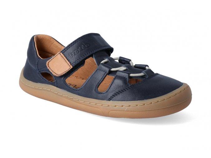 barefoot sandalky froddo bf dark blue 2021 3
