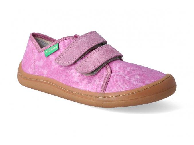 barefoot tenisky froddo bf pink platene 2 3