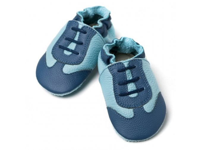 liliputi soft baby shoes blue sport 2112