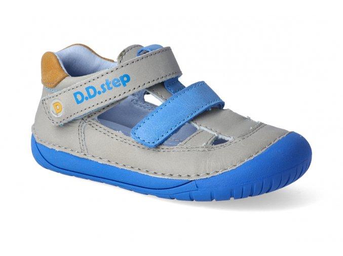 barefoot sandalky d d step 070 698a grey 3