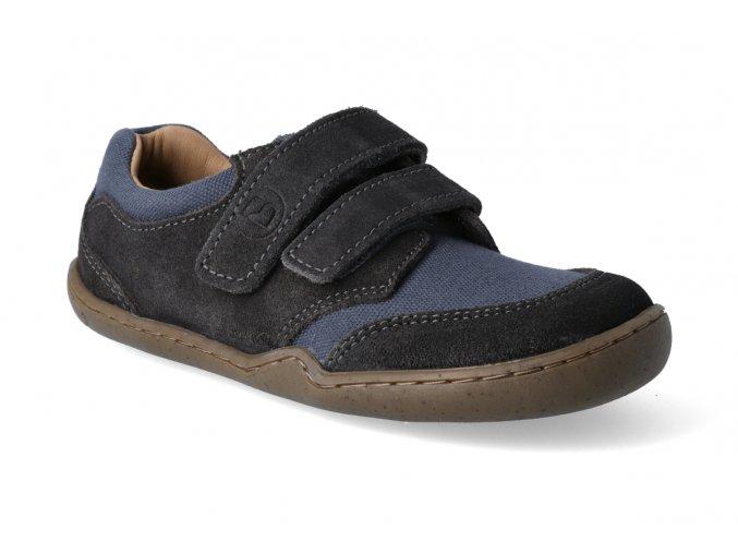 barefoot tenisky skink bio strap schiefergrau 2