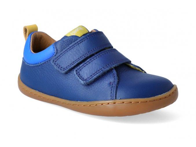 barefoot tenisky camper peu cami firstwalkers blue 2 3