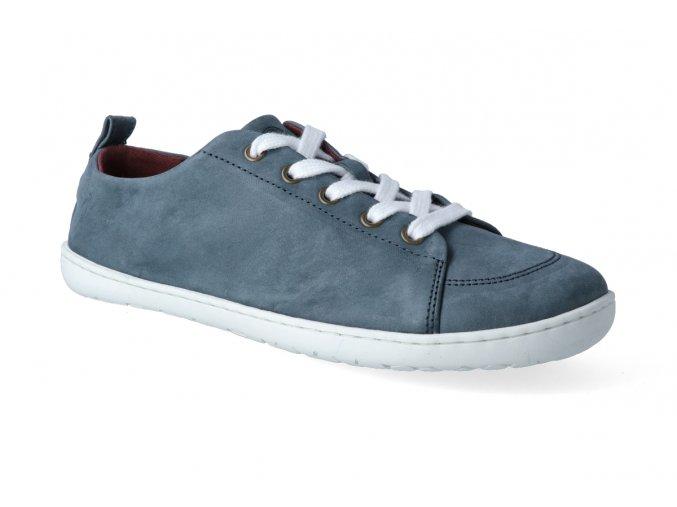 barefoot tenisky mukishoes low cut azurit 2