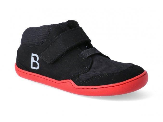 barefoot tenisky blifestyle okapi textil schwarz 3
