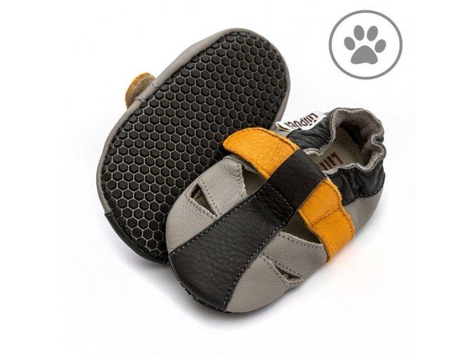 liliputi soft paws baby sandal yellowstone 5046