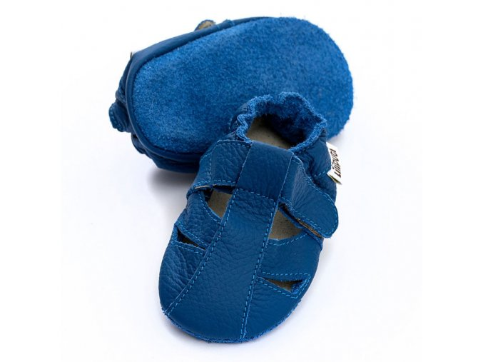 liliputi soft baby sandals cobalt 4908