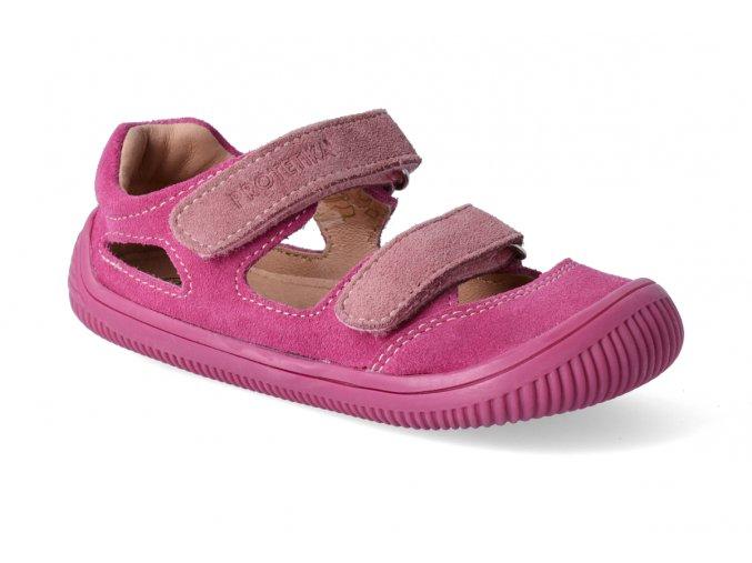 barefoot sandalky protetika berg pink 2