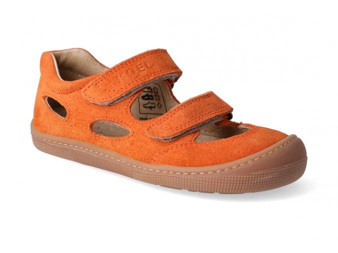 barefoot sandaly koel bernardinho orange 3