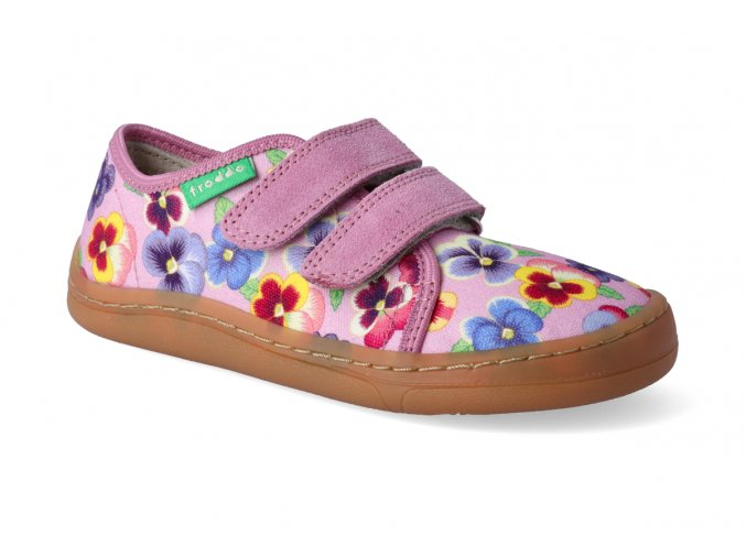 barefoot tenisky froddo bf pink platene 3 2