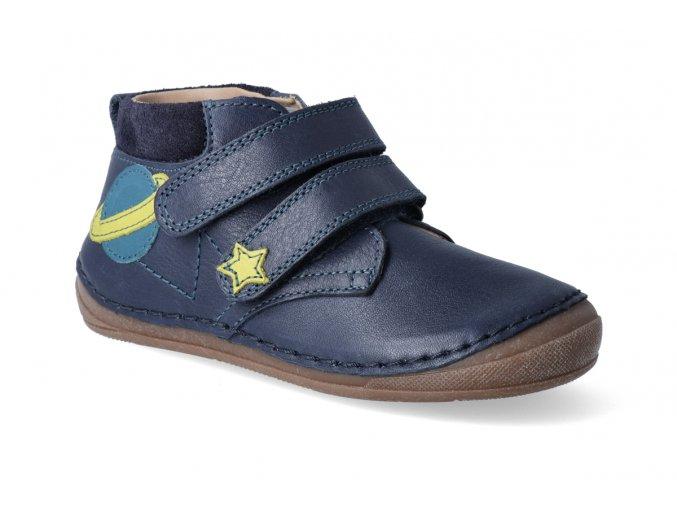 kotnikova obuv froddo flexible blue s aplikaci 3