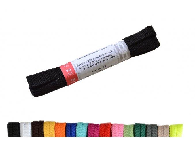 Polyesterové ploché tkaničky