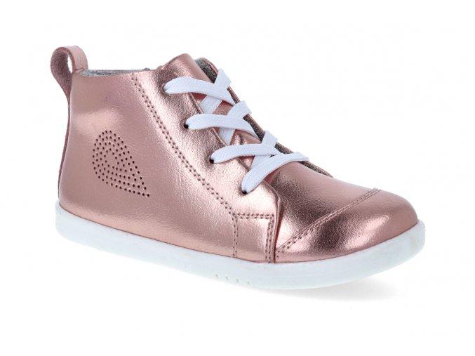 kotnikova obuv bobux alley oop rose gold metallic 3