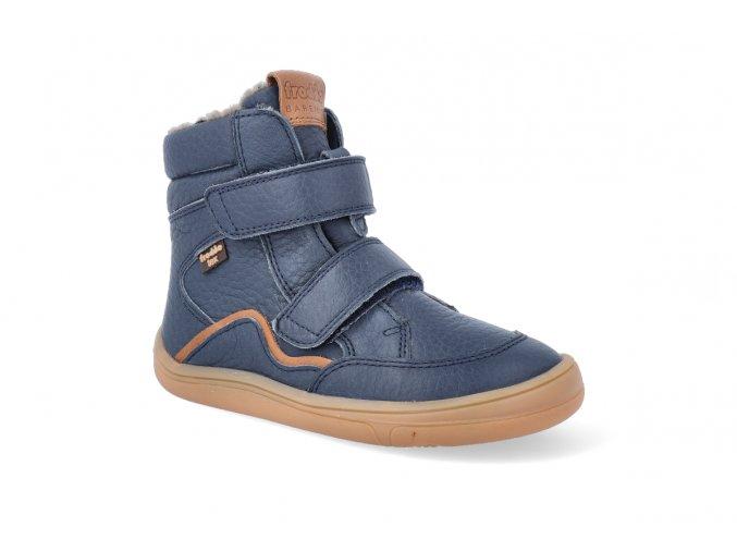 barefoot zimni obuv s membranou froddo bf blue 2 2