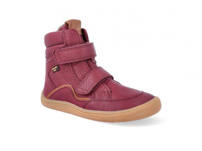 barefoot zimni obuv s membranou froddo bf bordeaux 3 2