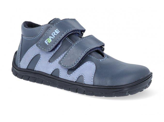 barefoot kotnikova obuv s membranou fare bare b5516161 2