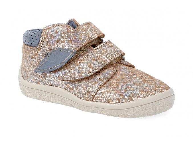 barefoot kotnikova obuv s membranou beda bella 2021 4