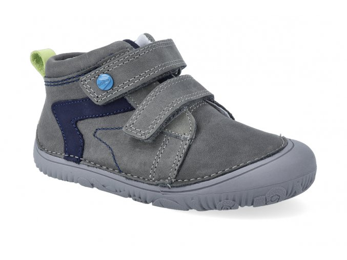 barefoot tenisky d d step s073 504 grey 2