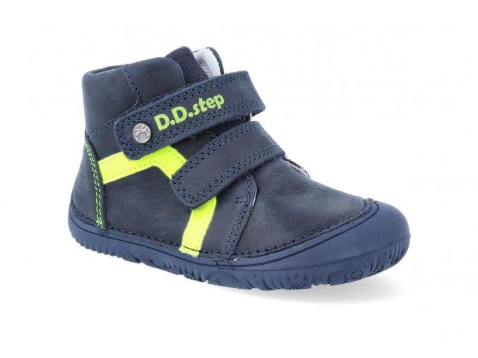 barefoot kotnikova obuv d d step a073 874c royal blue 2