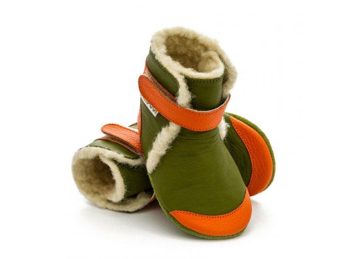 liliputi soft soled booties jungle 3218