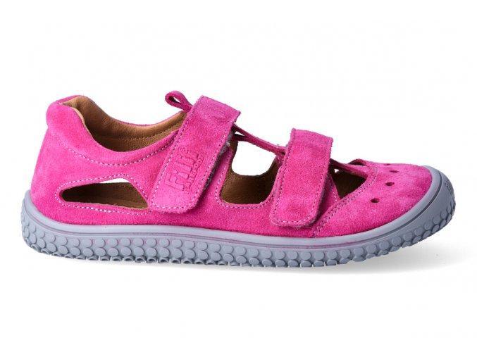 Filii barefoot Sandály Pink Klett W