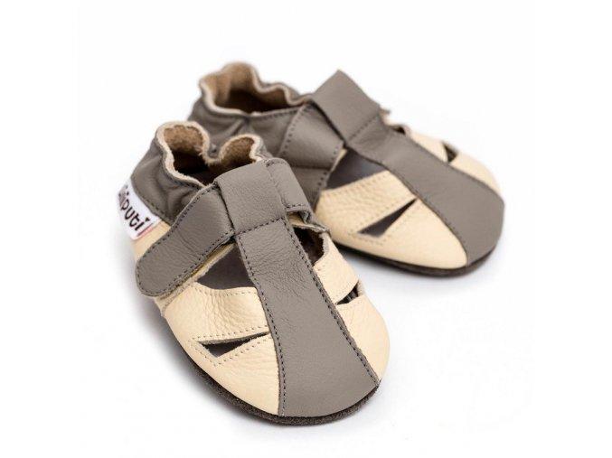liliputi soft baby sandals greyhound 3395