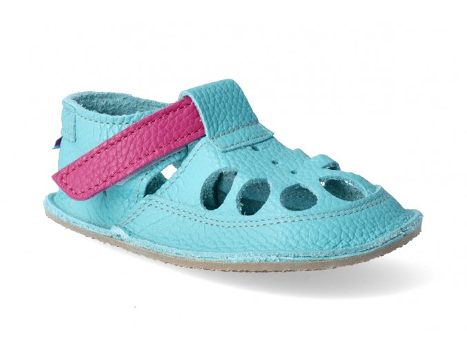 baby bare shoes io flower letni 3