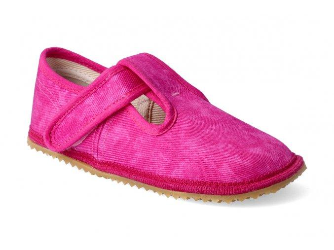 beda papucky na suchy zip ruzova batika 2