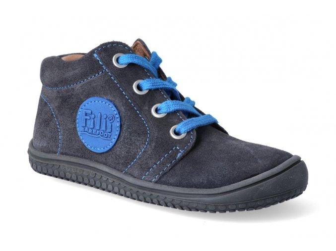 kotnikova obuv filii barefoot gecko laces graphit m 3