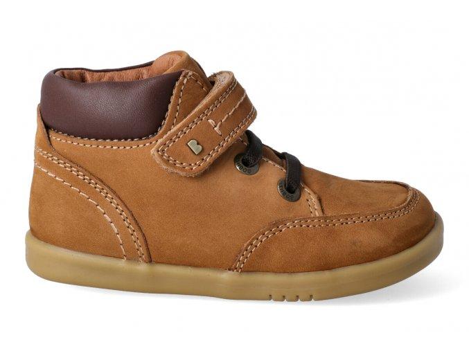 bobux iwalk timber mustard leather boot 632601
