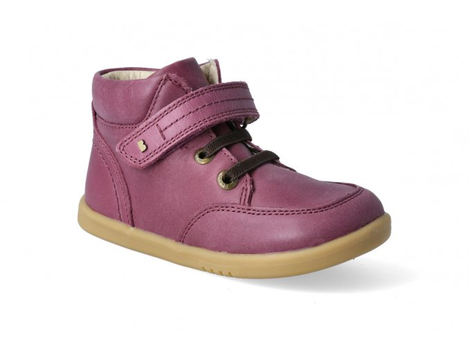 bobux timber boot plum 2