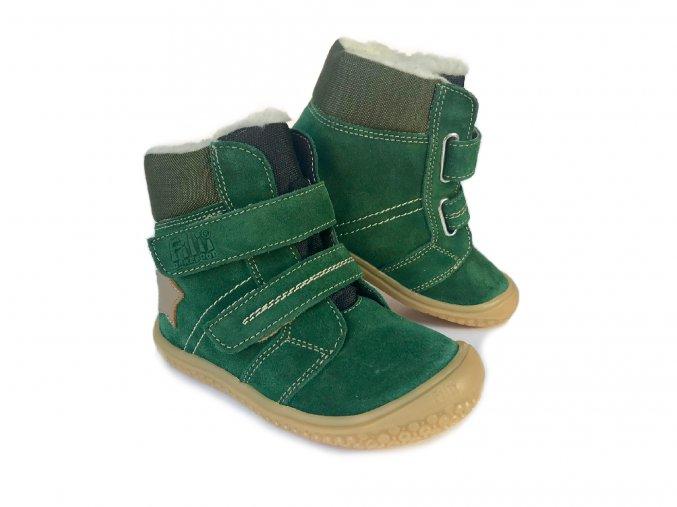 Zimní barefoot obuv Filii - HIMALAYA TEX WOOL Forest