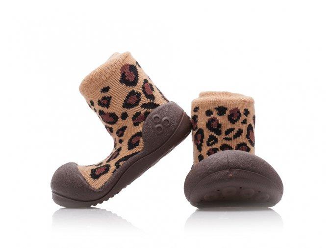 Barefoot capáčky Attipas - Animal Leopard