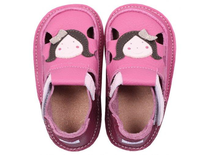 Barefoot sandálky Tikki shoes - A Little friend