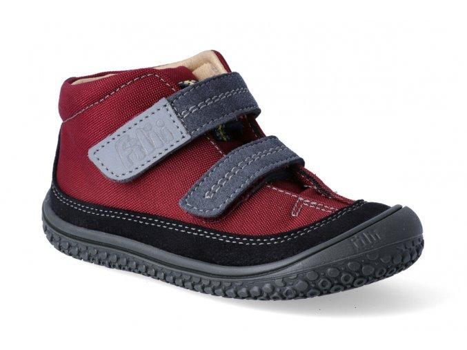 barefoot kotnikova obuv filii viper vegan tex berry m 2