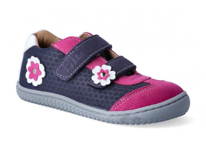 v19941 26 leguan vegan velcro textile ocean pink flower 2