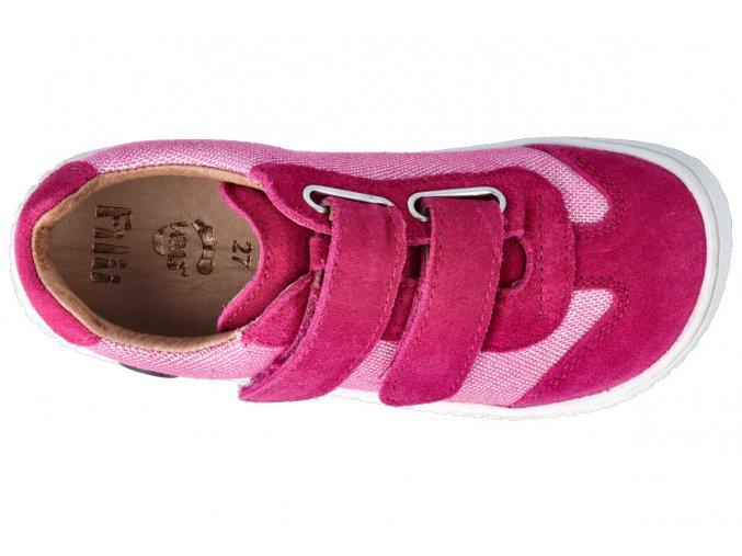 19941-6 LEGUAN velcro velours/textile pink