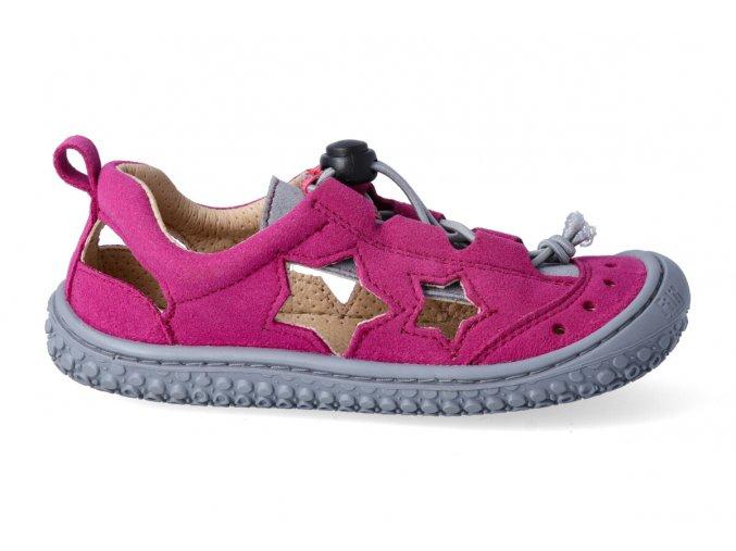 V19011-6 SEA STAR vegan quick lock textile pink/stone