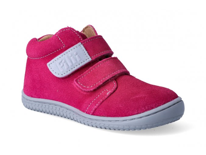 filii barefoot chameleon velcro velours pink w 3