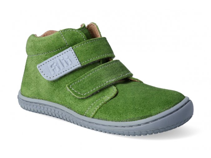 kotnikova obuv filii barefoot chameleon velcro velours apple 2