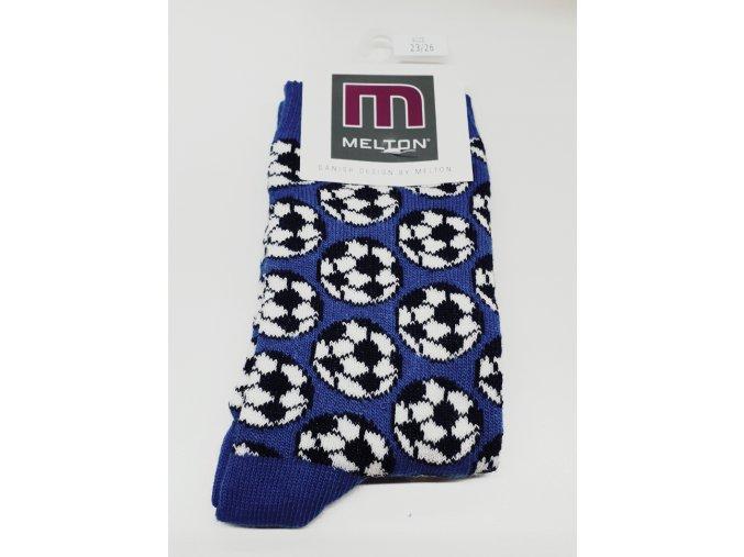 modrý fotbal