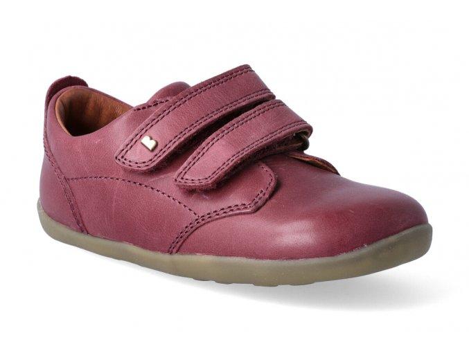 bobux port shoe dark red step up 3