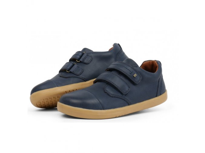 bobux kid port shoe navy 833001 sizes 27 33