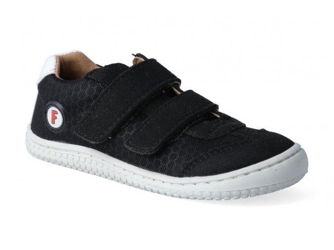 filii barefoot leguan vegan velcro textile black m 3