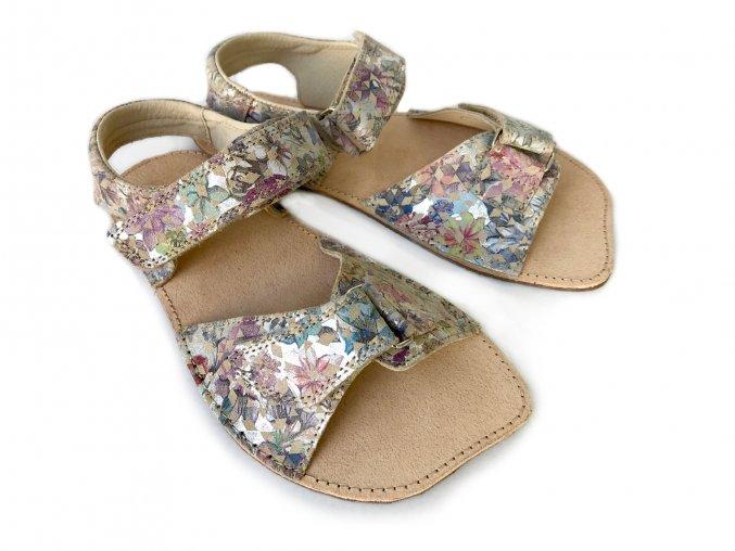 Barefoot sandály ORTO+ - barevné 011