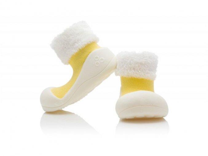 Barefoot capáčky Attipas - Macaron Yellow