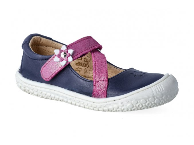 filii barefoot anna velcro nappa ocean pink m 2